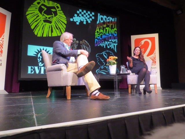 Sir Tim Rice in Conversation