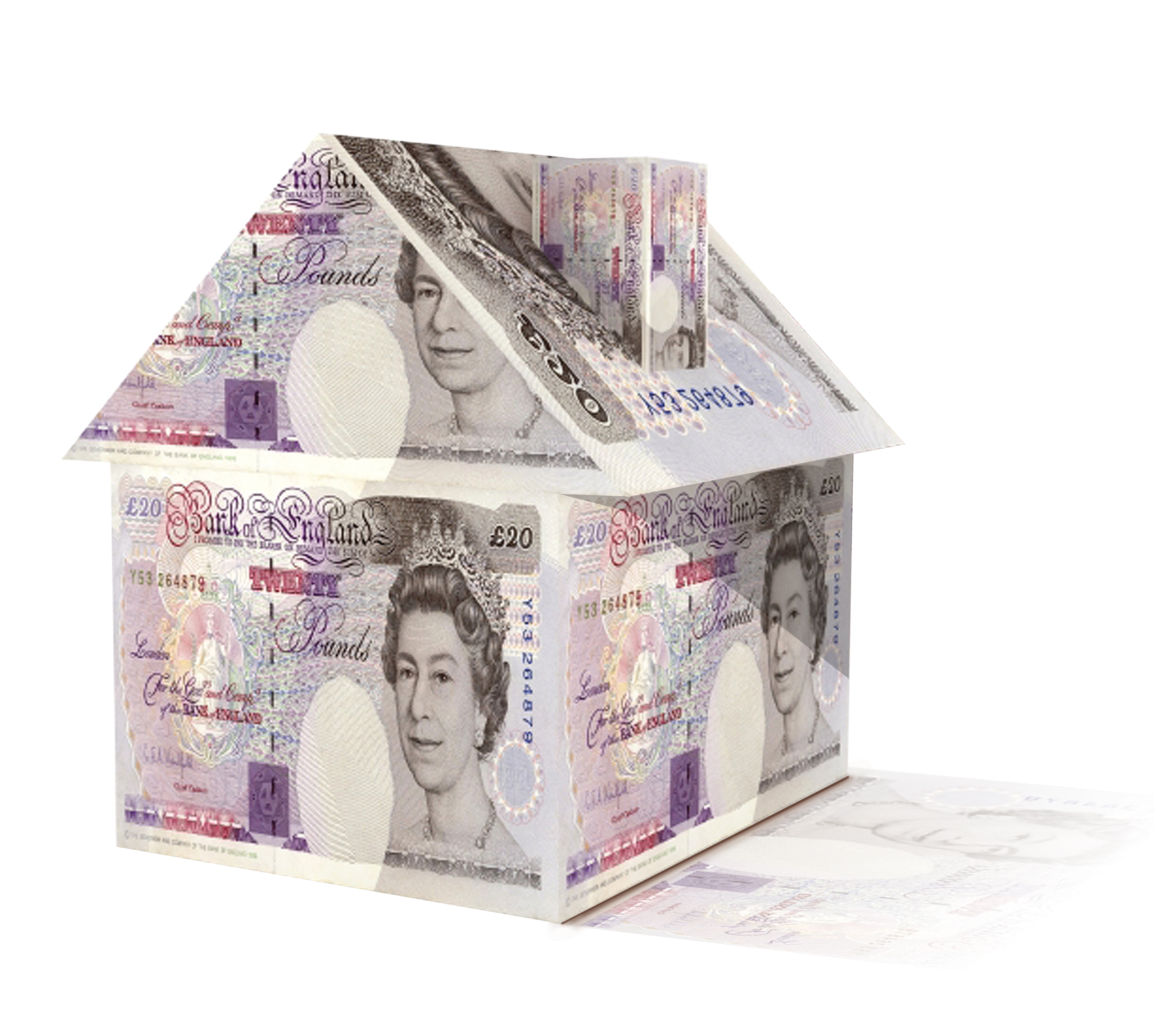 £20 note house