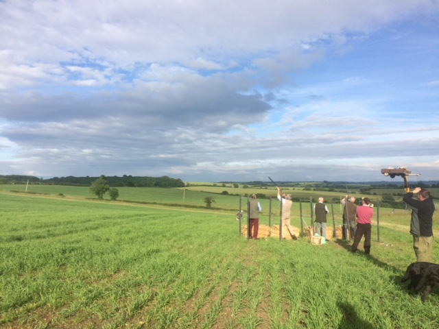 Clay Pigeon Shoot for Stratford Cancer and Eye Hospital