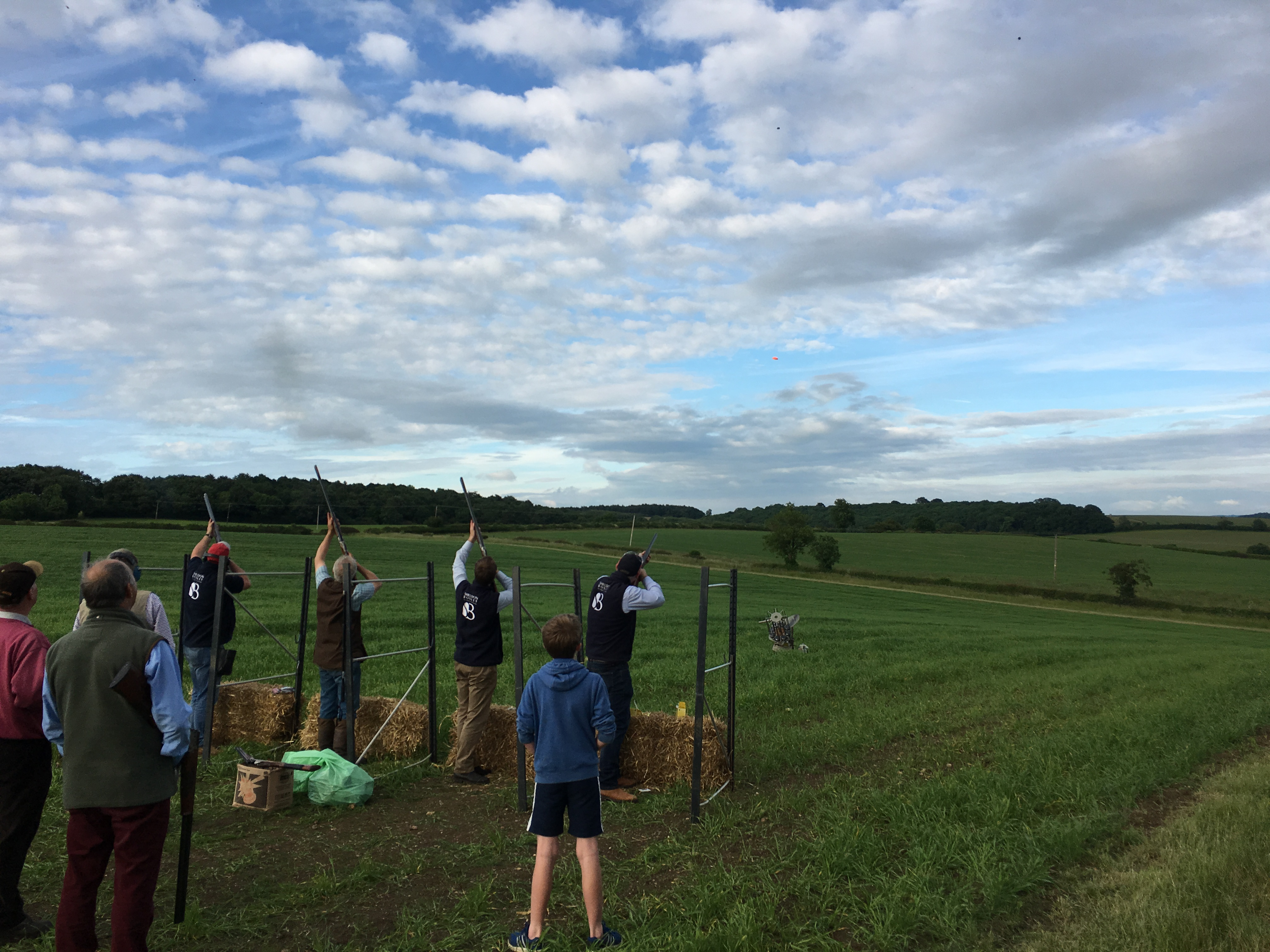 Sheldon Bosley Clay Pigeon Shoot for Stratford Cancer and Eye Hospital