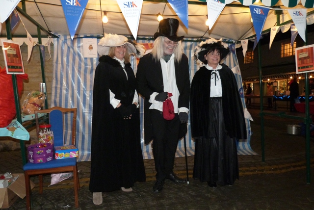 Liz Smith, Peter Leamy, Kate Billing, Sheldon Bosley Knight, Shipston Victorian Evening