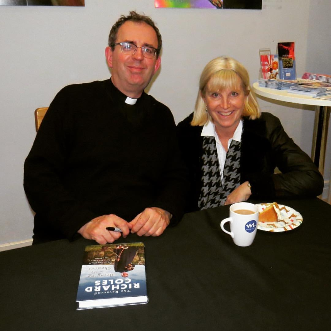 Rev Richard Coles and Suzanne James SBK
