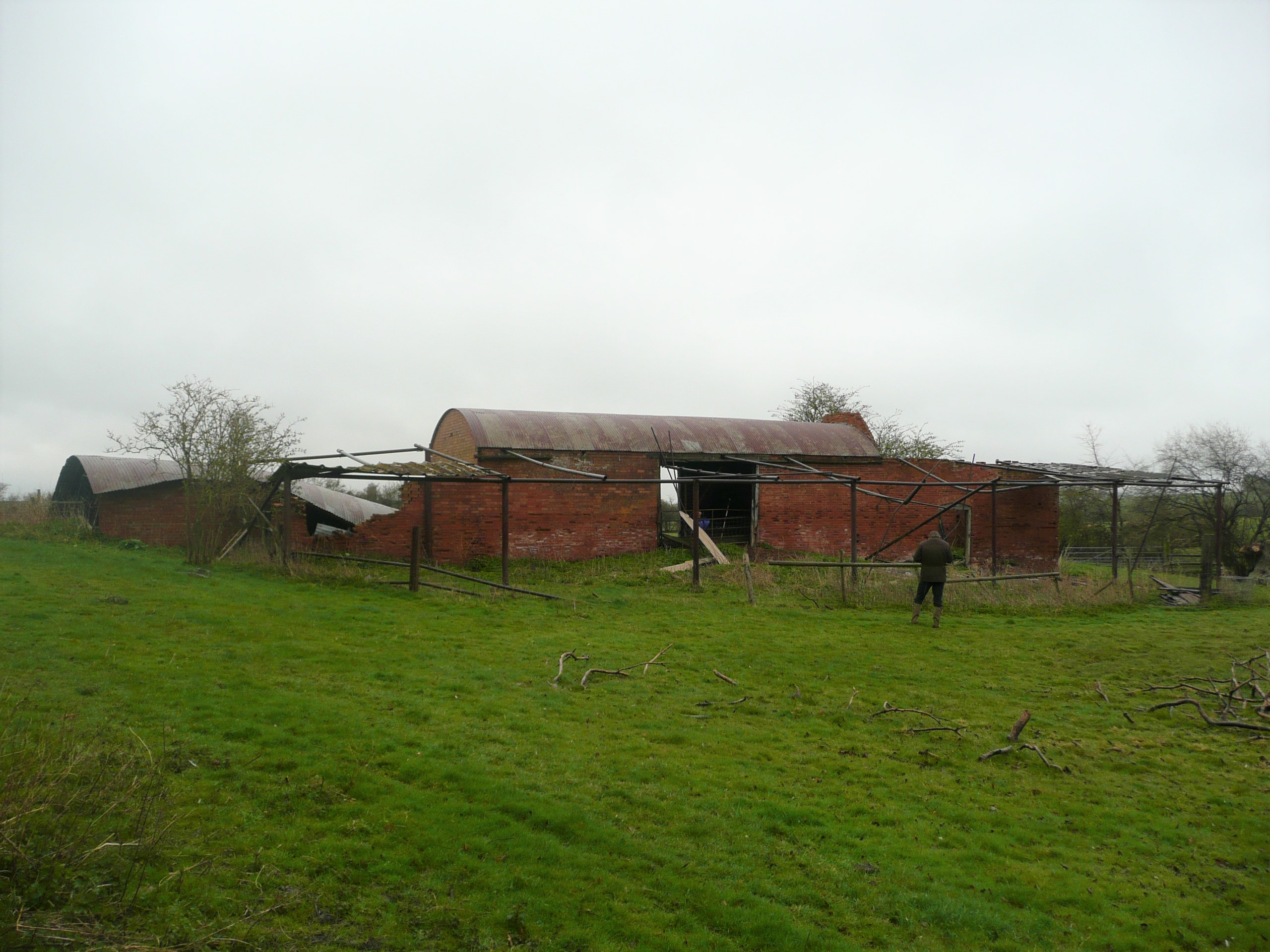 Smallbrook Barn Admington - before