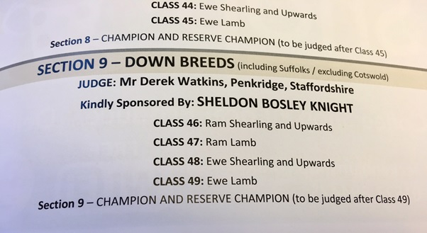Hanbury Countryside Show 2017 - Sheldon Bosley Knight sponsorship