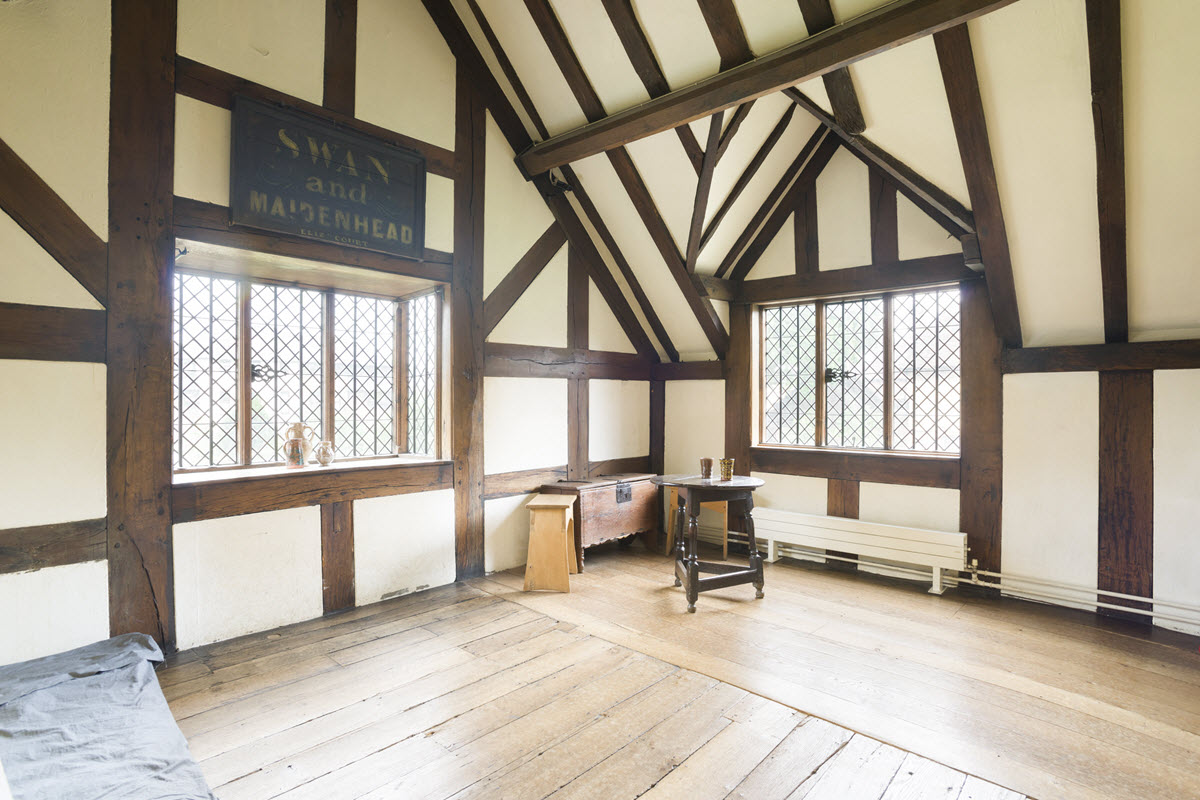 Shakespeares Birthplace interior