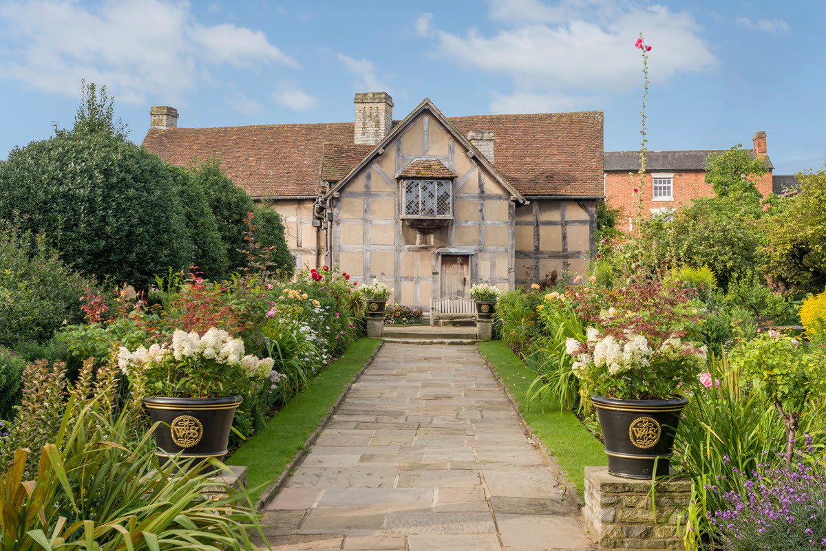Shakespeares Birthplace garden