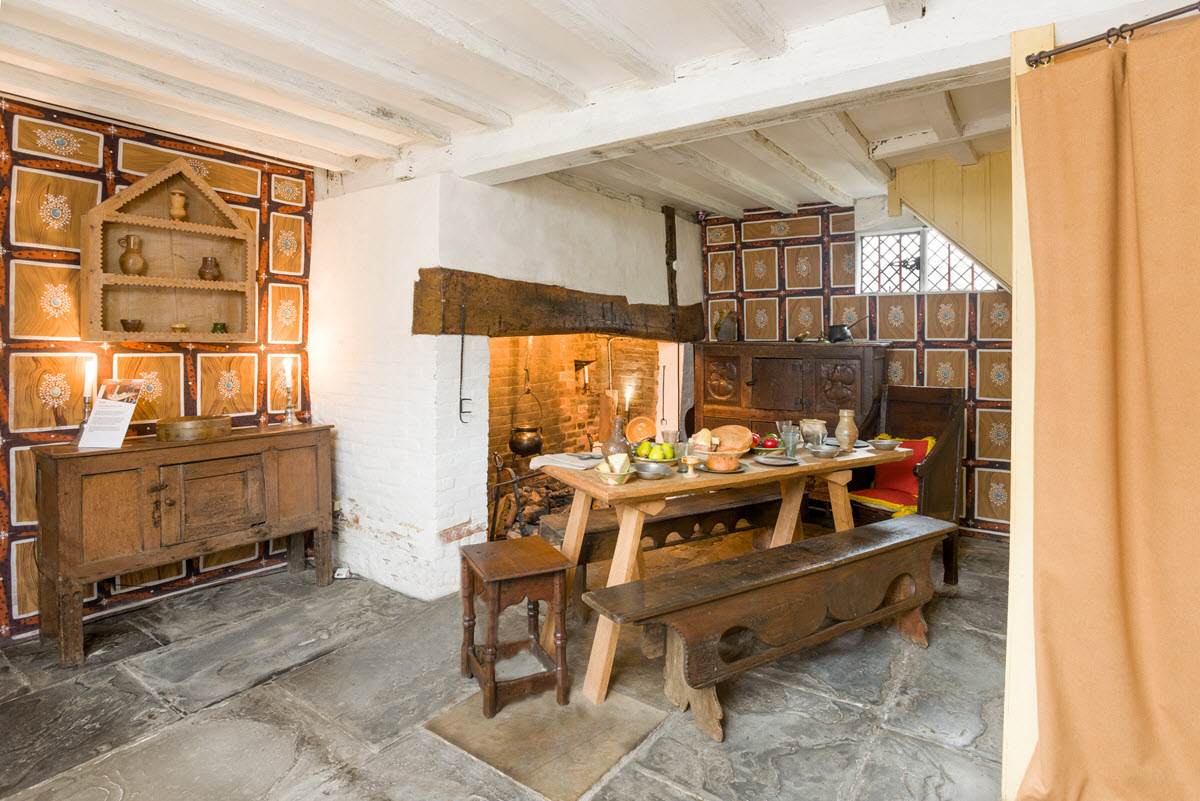 Shakespeares Birthplace-kitchen