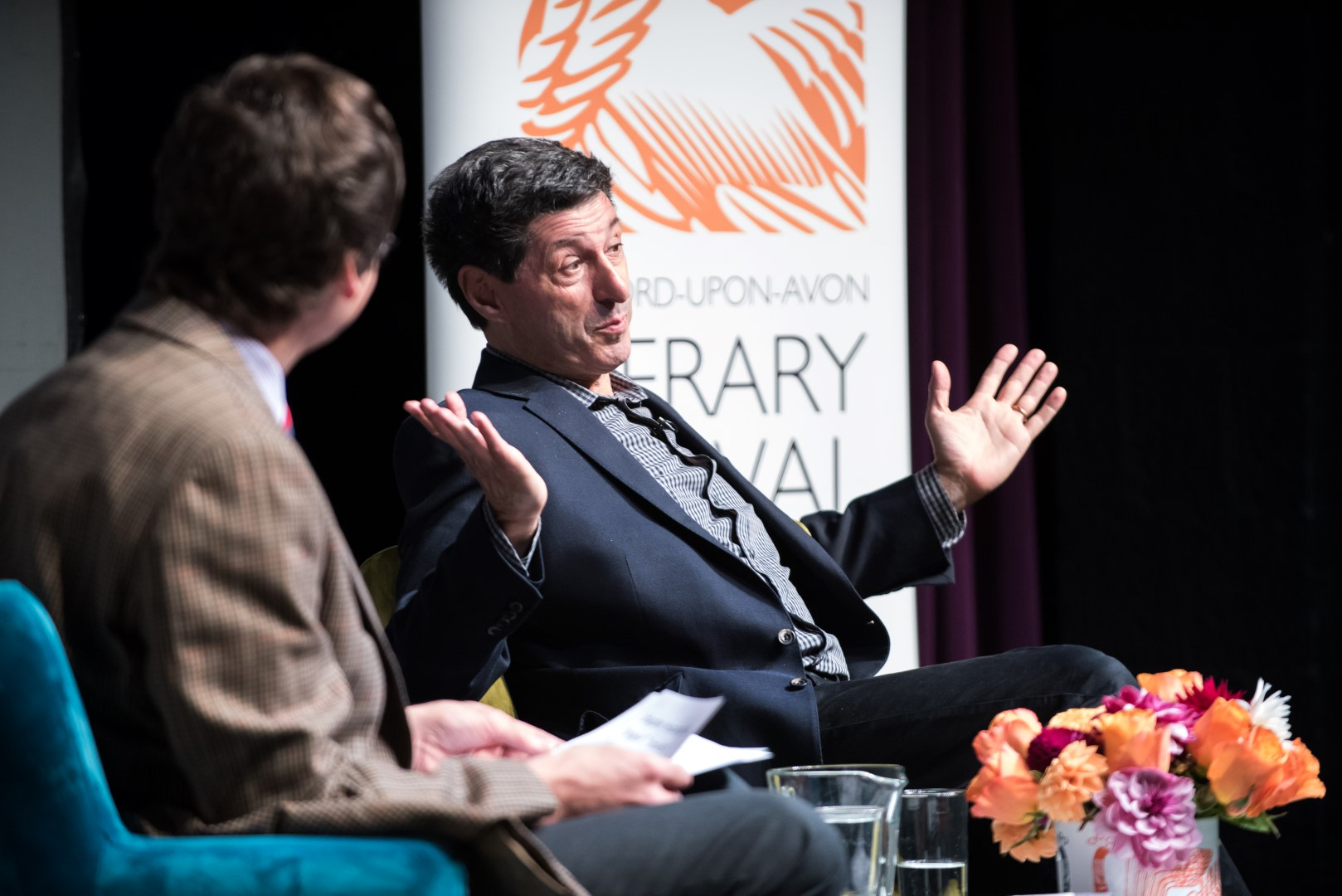 Jon Sopel at Stratford Literary Festival