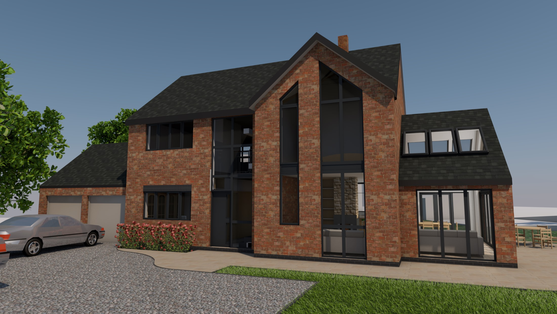 Planning Permission - Alderminster Visual Front