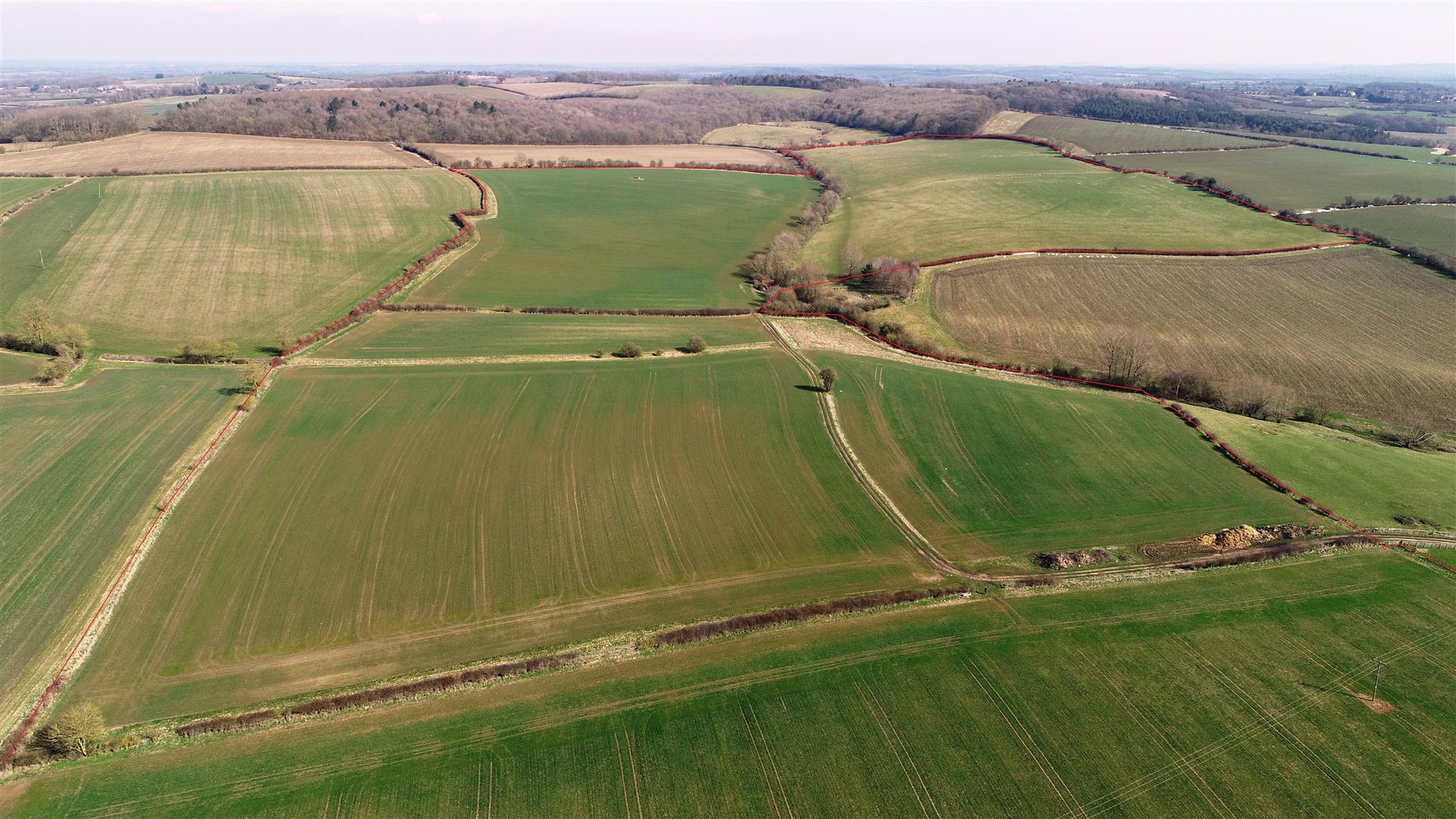 120 acres agricultural land at Alderminster