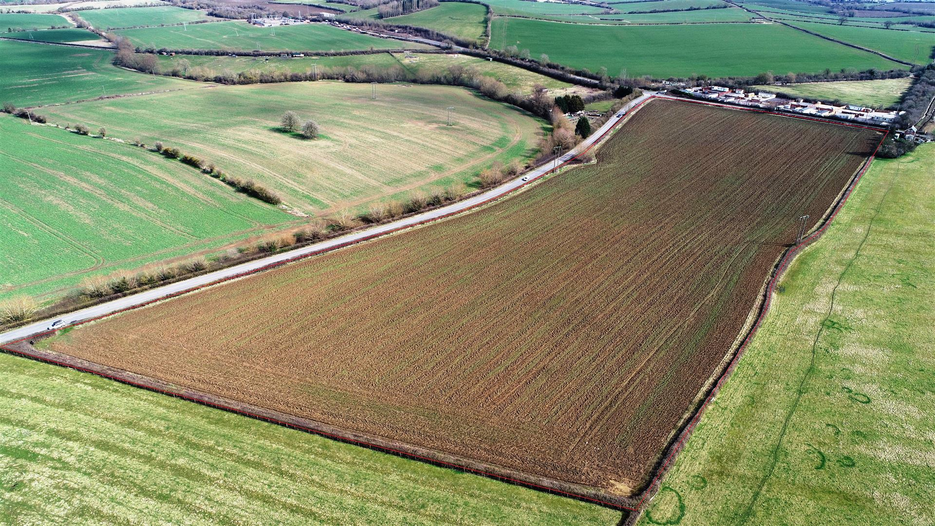 15 acres arable at Darlingscott