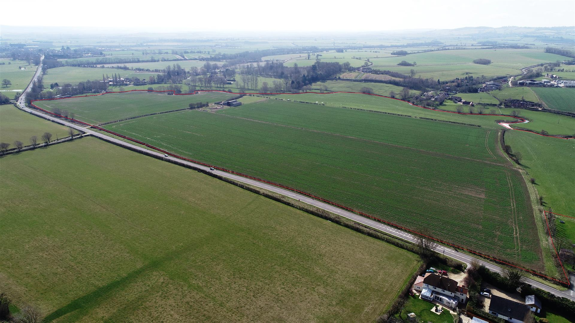77 acres agricultural land and buildings at Alderminster