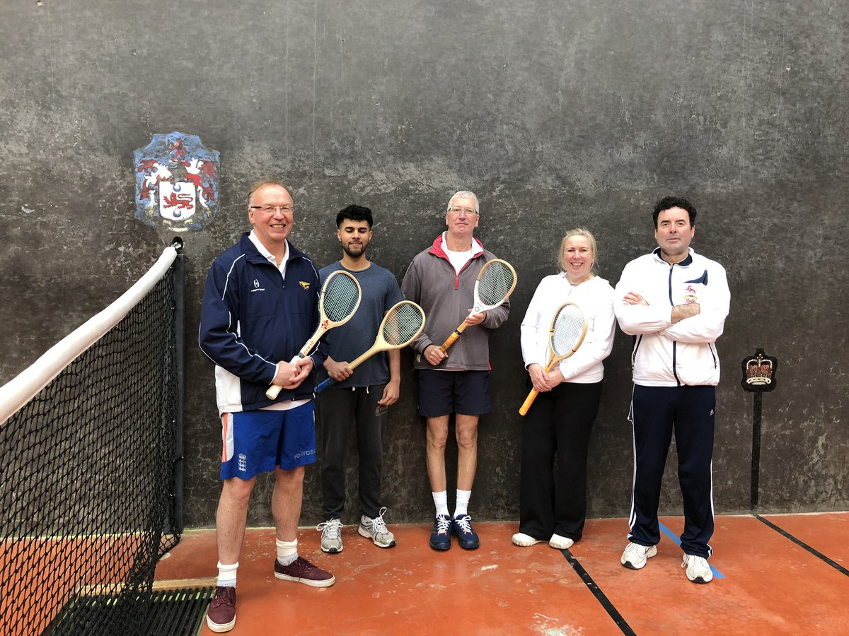 The four lucky winners of the free introductory lesson