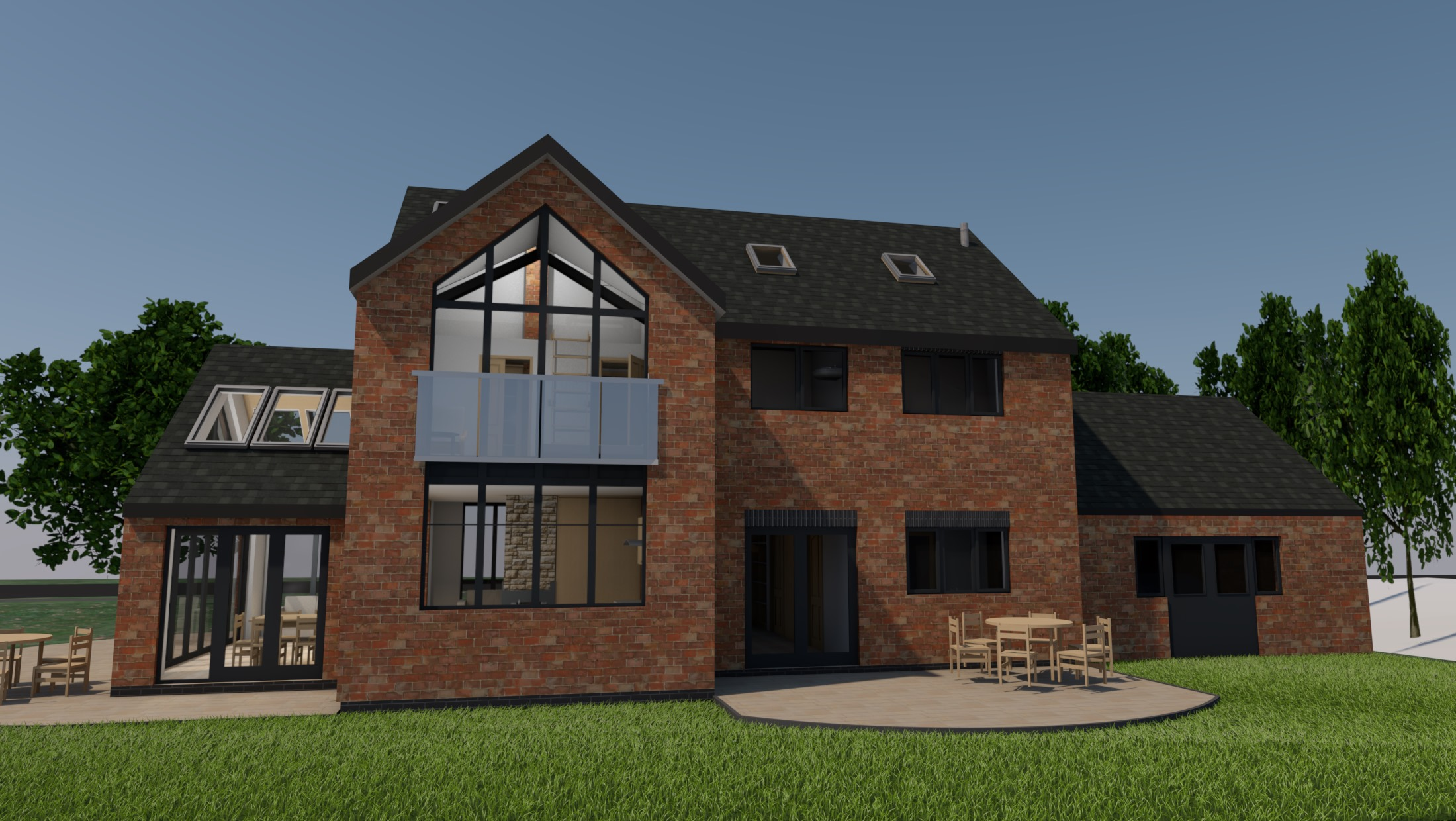 Planning Permission - Alderminster Visual Rear