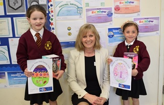 Long Compton easter colouring competition winners