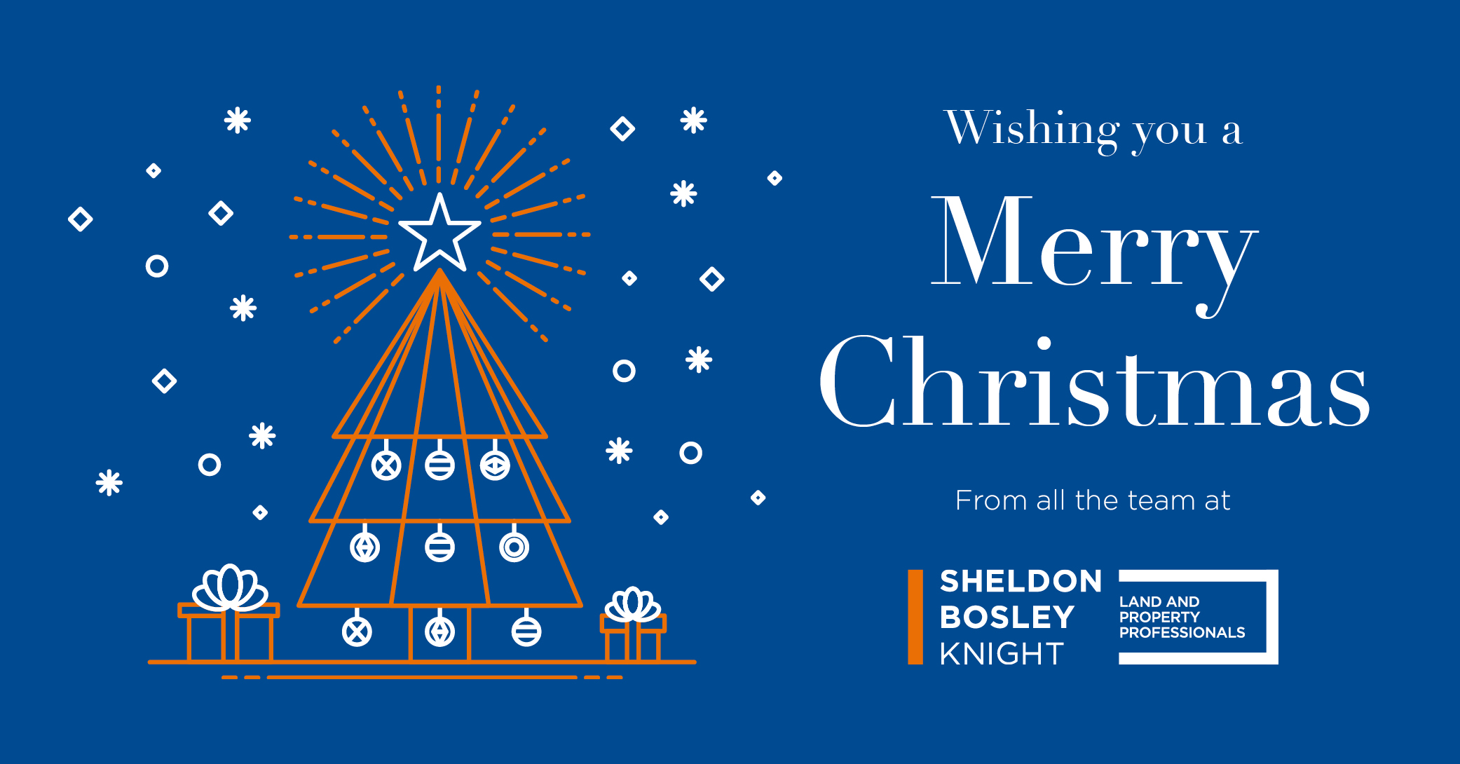 Merry Christmas from Sheldon Bosley Knight